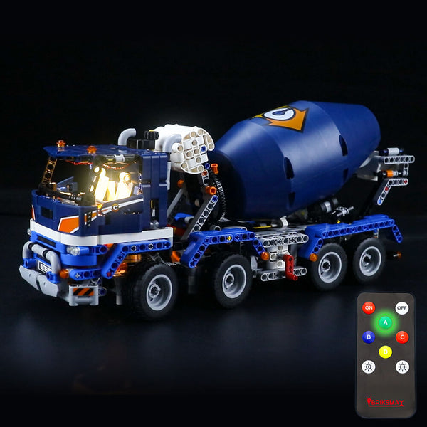 Lego Light Kit For Concrete Mixer Truck 42112  BriksMax
