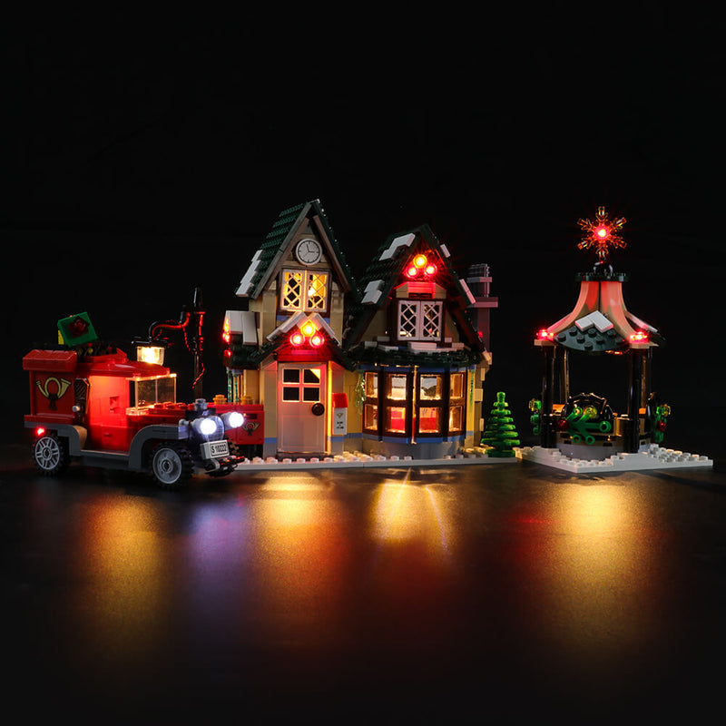Lego Light Kit For Winter Village Post Office 10222  BriksMax