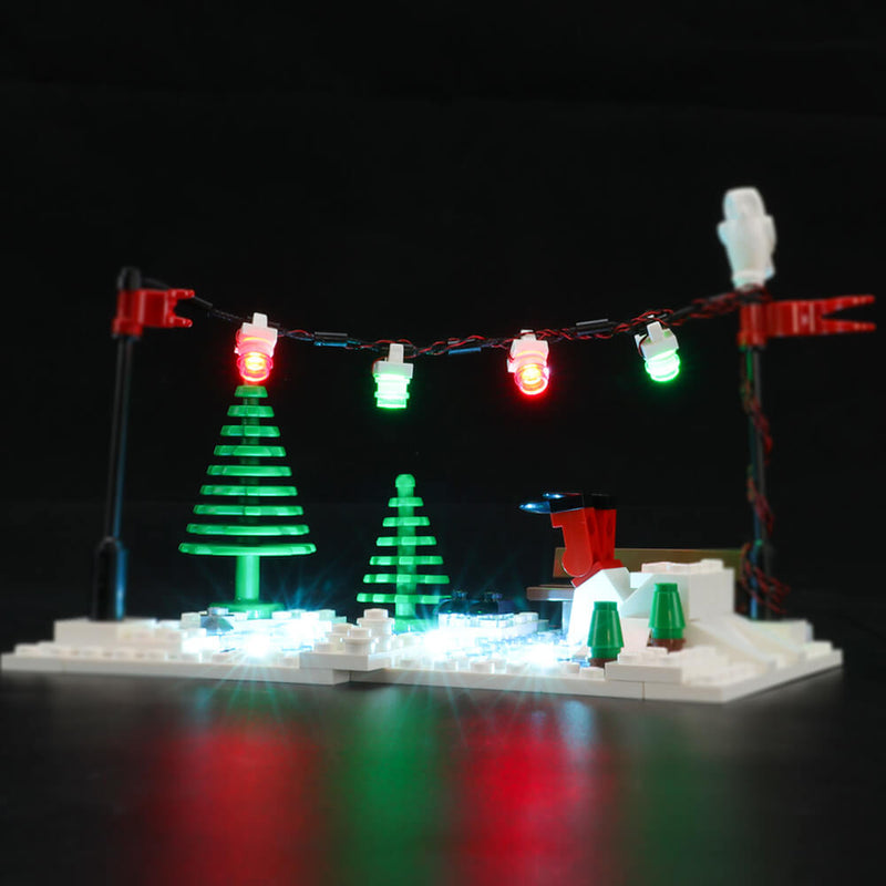 Lego Light Kit For Holiday Bakery 10216  BriksMax