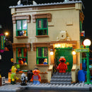 Light Kit For 123 Sesame Street 21324