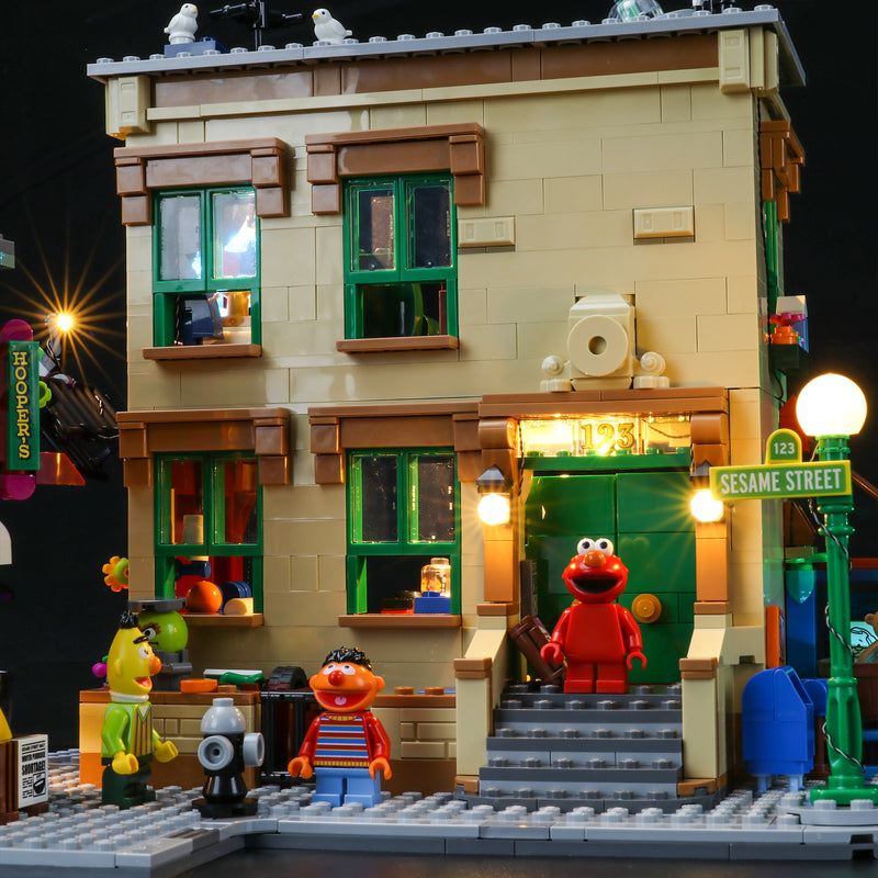 Light Kit For 123 Sesame Street 21324 (PRE-Order 5th Dec First Batch)