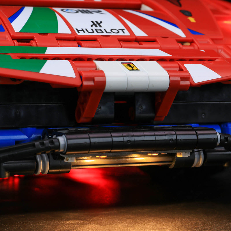 lego 488 tail lights