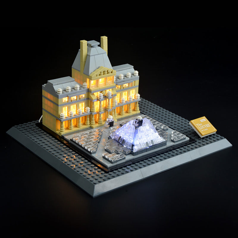 Lego Light Kit For Louvre 21024  Lightailing