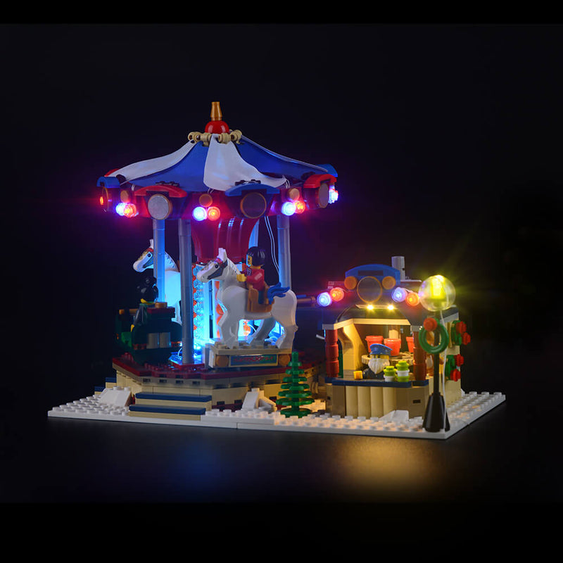 Light Kit For Christmas Winter Village Market 10235