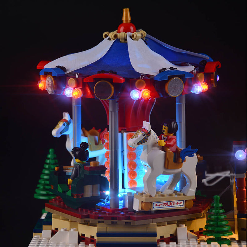 Lego Light Kit For Christmas Winter Village Market 10235  Lightailing