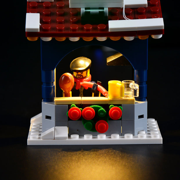 Lego Christmas Winter Village Market 10235 - Lightailing light kit