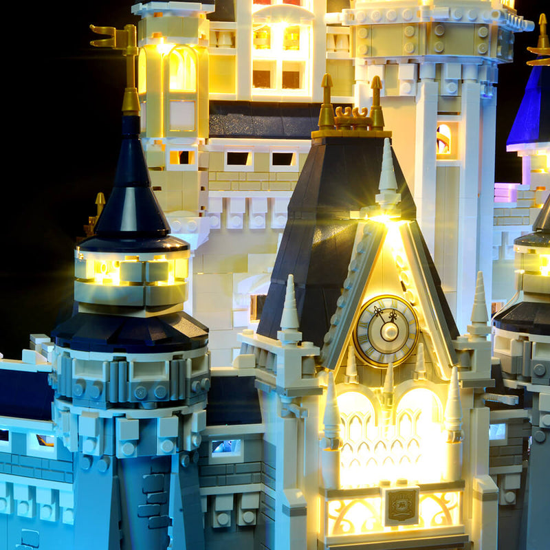 disney world lego castle