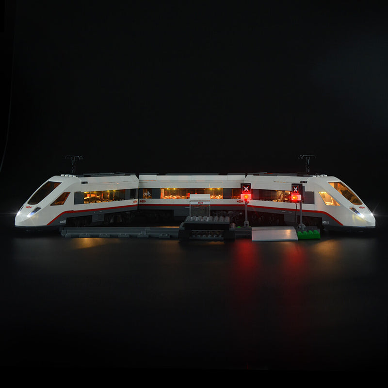 Lego Light Kit For Trains High-speed Passenger 60051  Lightailing