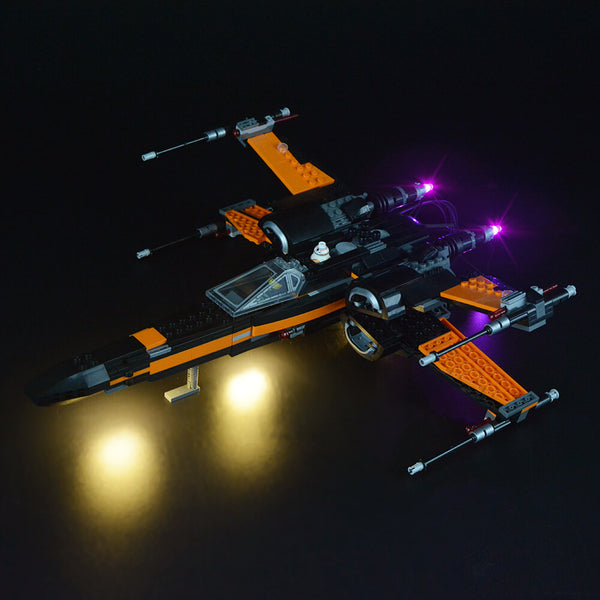 Lego Light Kit For Poe's X-Wing Fighter 75102  Lightailing