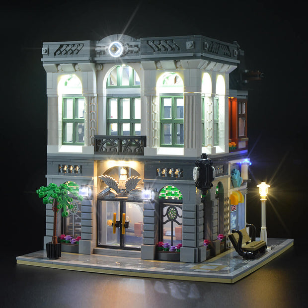 Light Kit For Brick Bank 10251