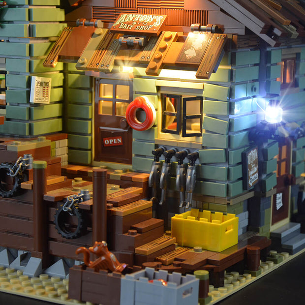 Lego Old Fishing Store Ideas 21310 - Lightailing light kit