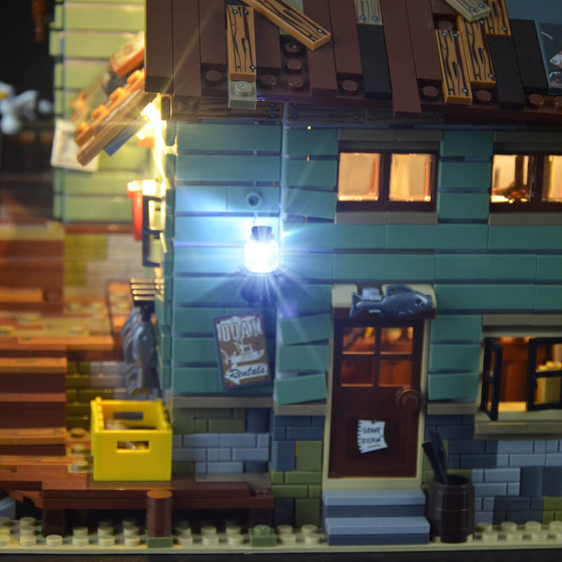 Lego Light Kit For Old Fishing Store 21310  Lightailing