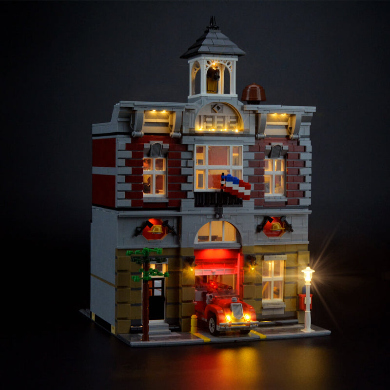 Lego Light Kit For Fire Brigade 10197  Lightailing