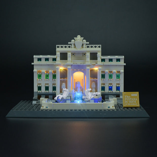 Lego Trevi Fountain 21020 - Lightailing light kit