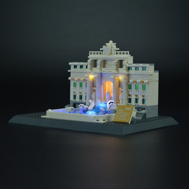Lego Trevi Fountain Architecture 21020 - Lightailing light kit