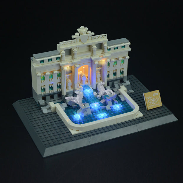 Lego Trevi Fountain  - Lightailing light kit