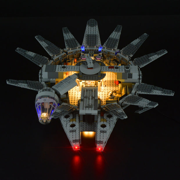 Lego Millennium Falcon Star Wars 75105 - Lightailing light kit