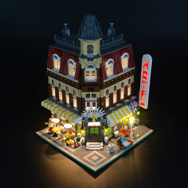 Lego Make & Create Cafe Corner 10182 - Lightailing light kit