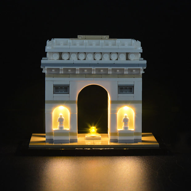 Light Kit For Arc De Triomphe 21036