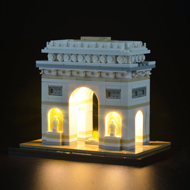 Lego Architecture Arc De Triomphe 21036 - Lightailing light kit