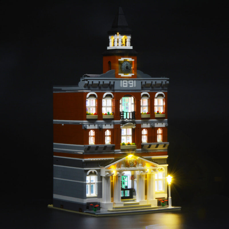 Lego Light Kit For Town Hall 10224  Lightailing