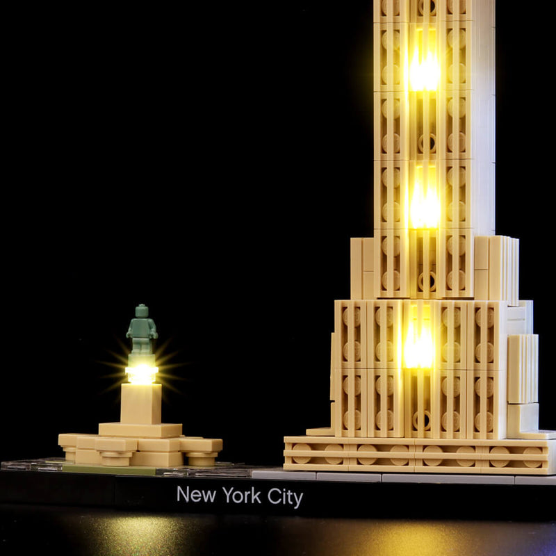 Lego Light Kit For New York City 21028  BriksMax