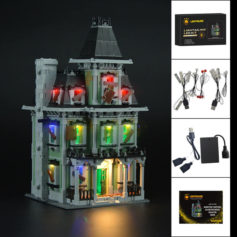 Lego Light Kit For Monster Fighters Haunted House 10228  Lightailing