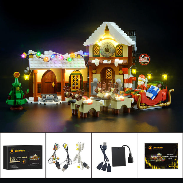 Light Kit For Santa's Workshop 10245
