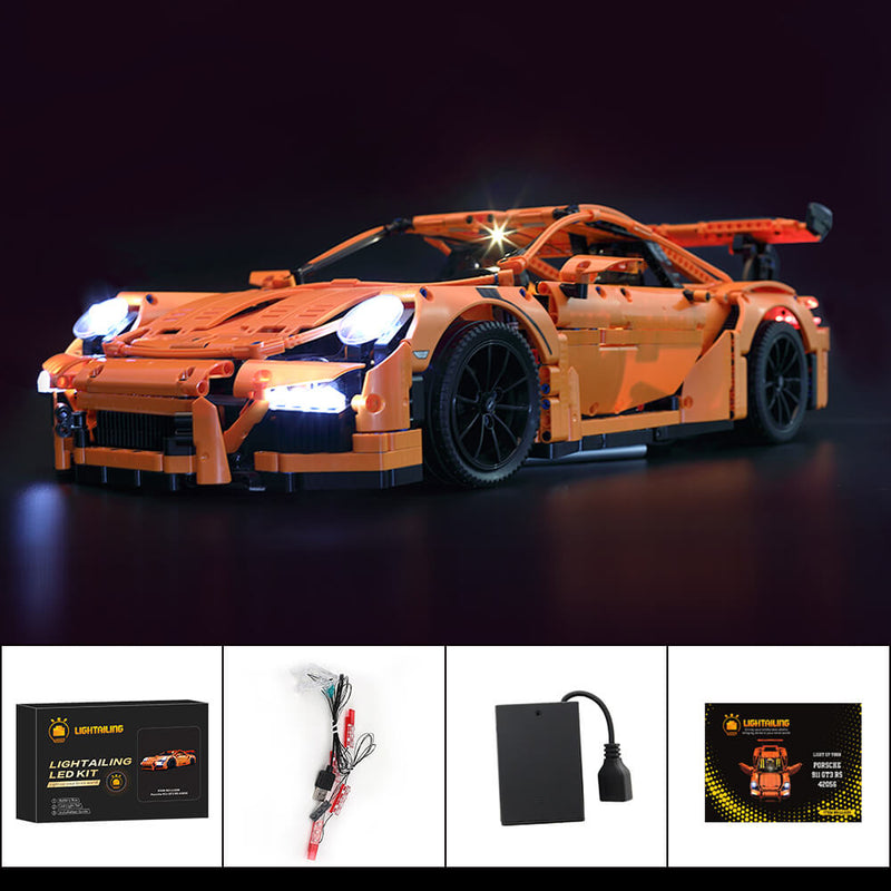 Lego Light Kit For Porsche 911 GT3 RS 42056  Lightailing