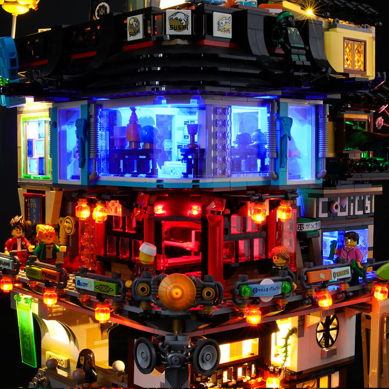 Lego Light Kit For Ninjago City 70620  Lightailing