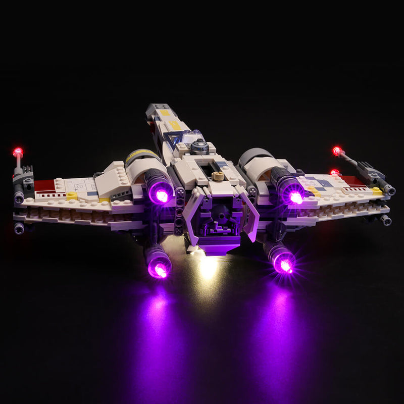 Lego Light Kit For X-Wing Starfighter 75218  Lightailing