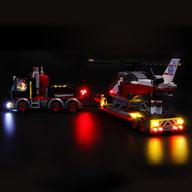 Lego Light Kit For Heavy Cargo Transport 60183  Lightailing