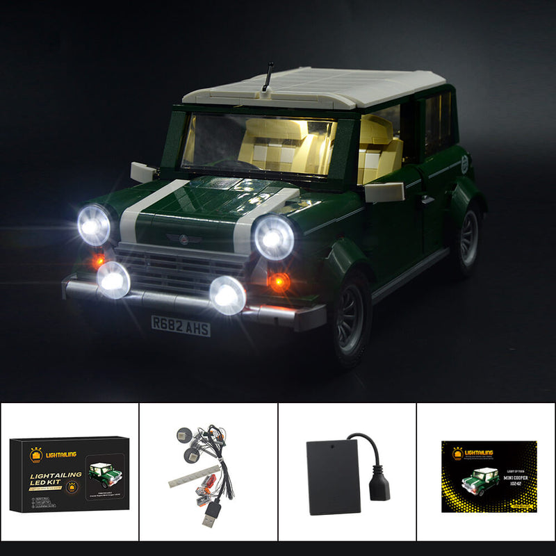 Lego Light Kit For Mini Cooper 10242  Lightailing