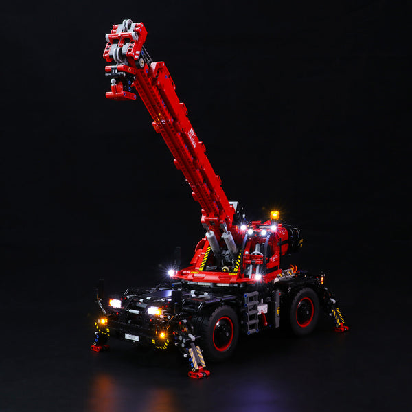 Lego Light Kit For Rough Terrain Crane 42082  Lightailing