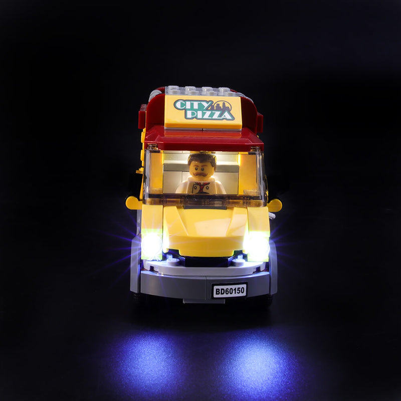 Lego Light Kit For Pizza Van 60150  Lightailing