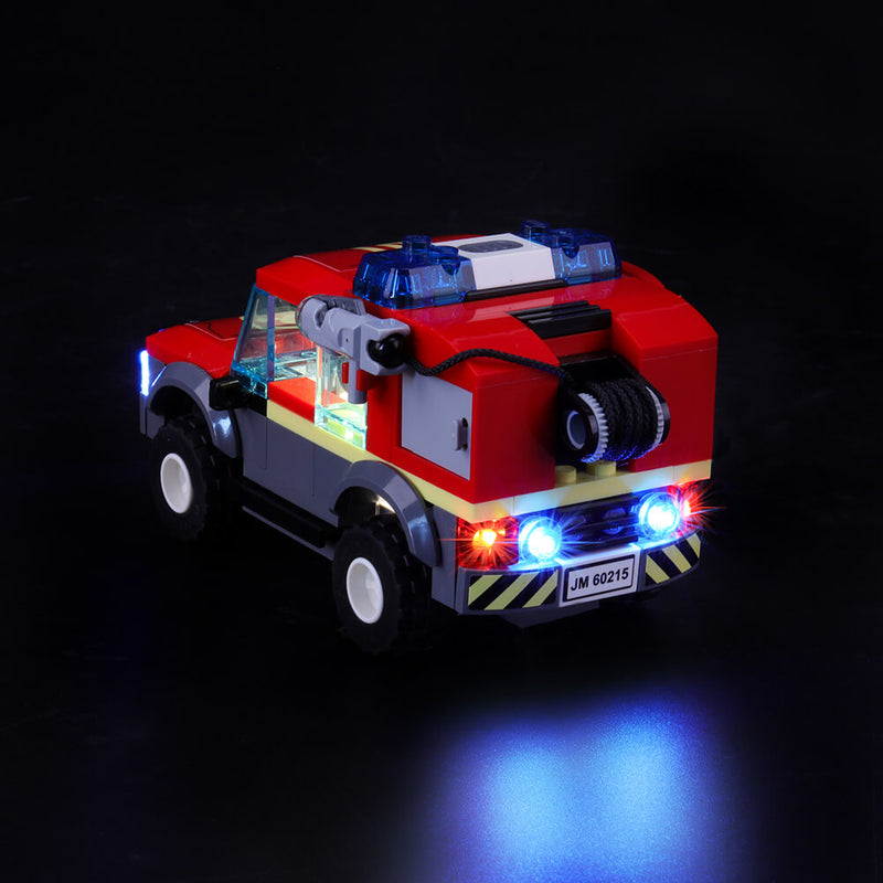 lego fire off-road vehicle tail lights