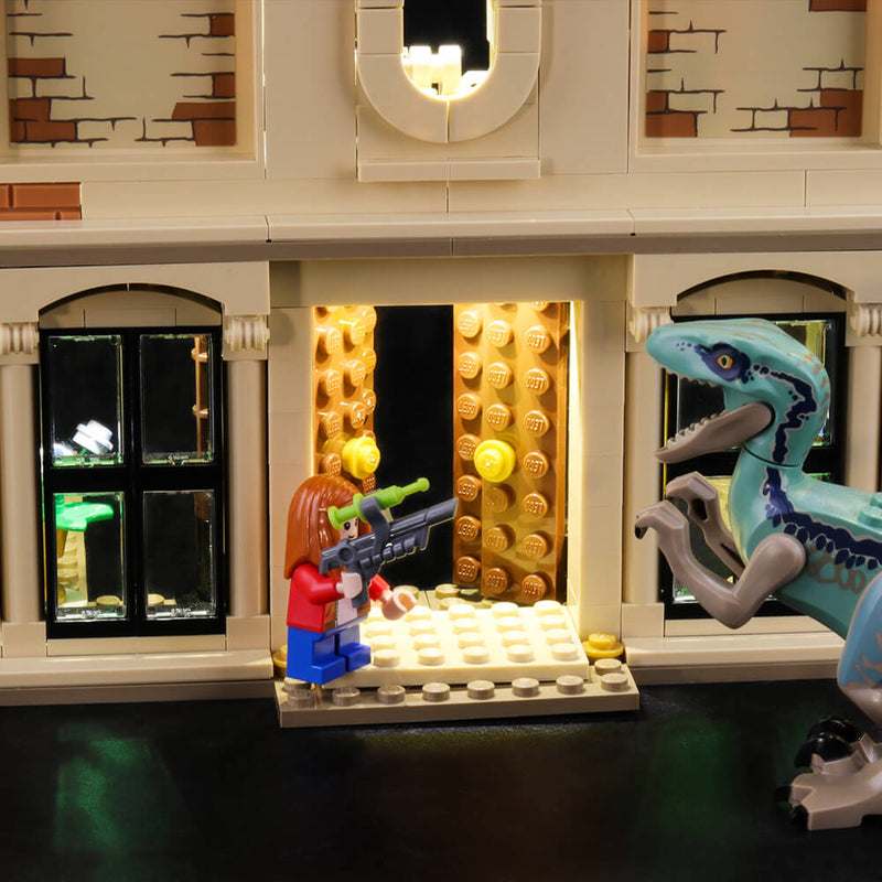 Lego Light Kit For Indoraptor Rampage at Lockwood Estate 75930  Lightailing
