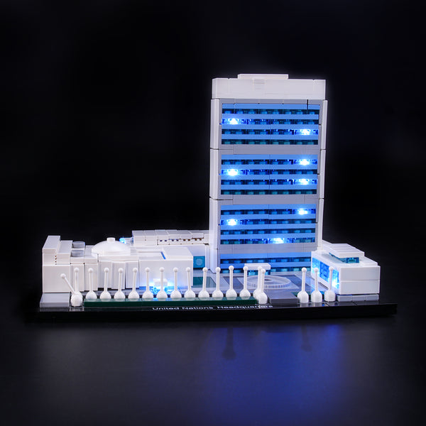 Lego Light Kit For United Nations Headquarters 21018  Lightailing
