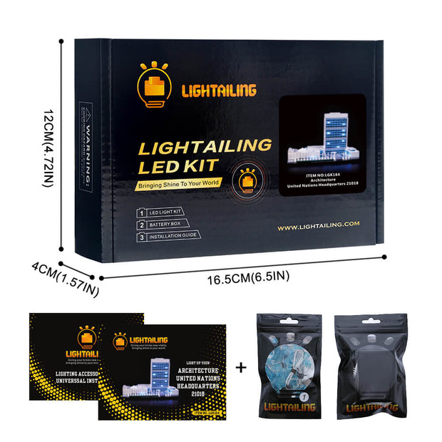 Light Kit For United Nations Headquarters 21018