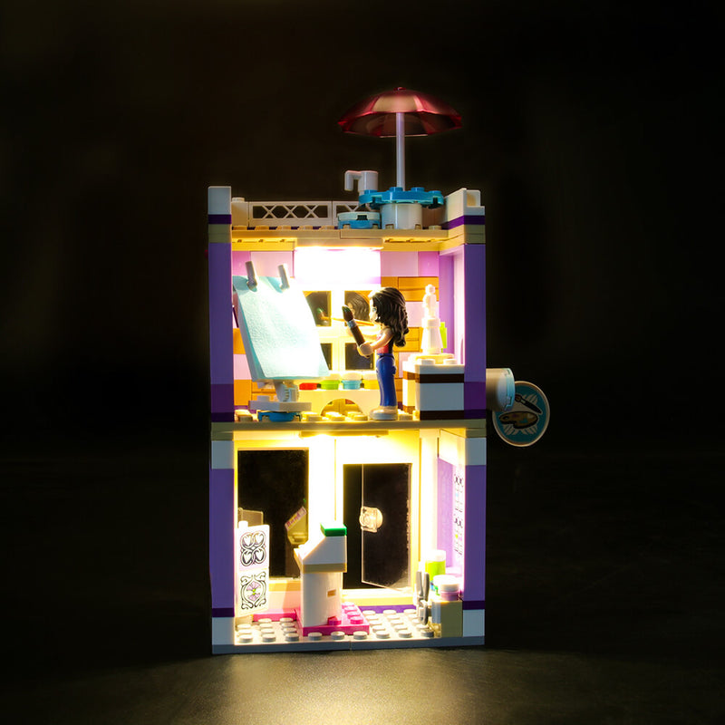 Lego Light Kit For Emma's Art Studio 41365  Lightailing