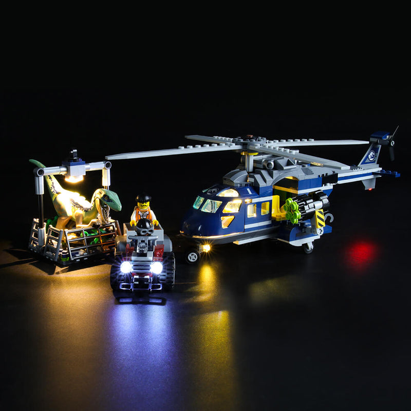 Lego Light Kit For Blue's Helicopter Pursuit 75928  Lightailing