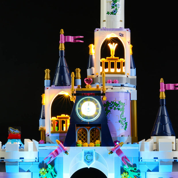 Light Kit For Princess Cinderella's Dream Castle 41154