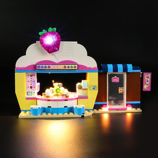 Lego Light Kit For Olivia's Cupcake Café 41366  Lightailing