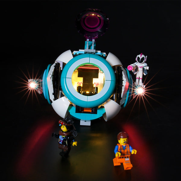 Lego Light Kit For Sweet Mayhem's Systar Starship 70830  Lightailing