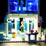 Light Kit For Frozen Elsa's Magical Ice Palace 41148