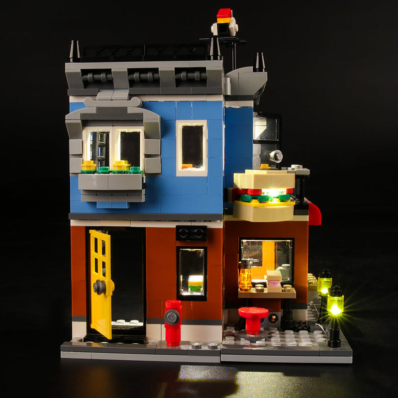 Lego Light Kit For Corner Deli 31050  Lightailing