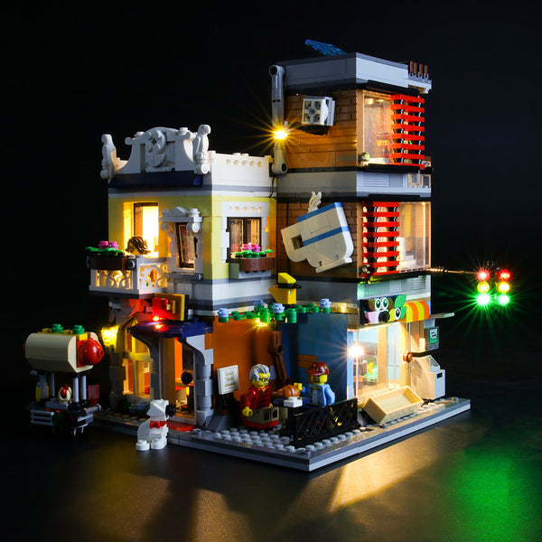 Lego Light Kit For Townhouse Pet Shop & Cafe 31097  Lightailing