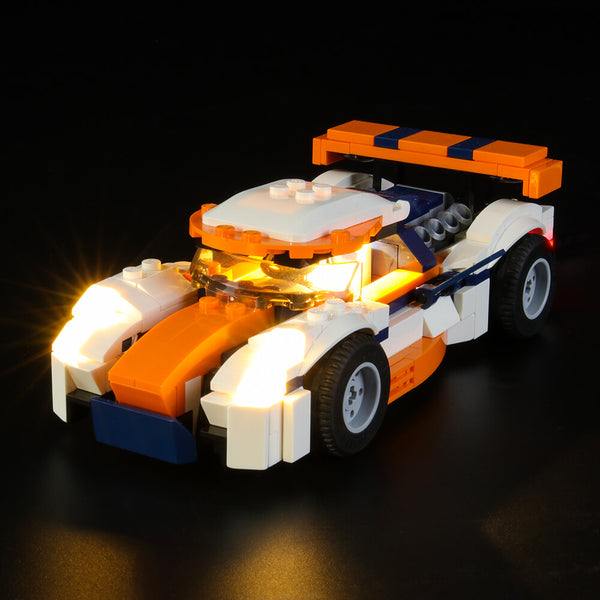 Lego Light Kit For Sunset Track Racer 31089  Lightailing