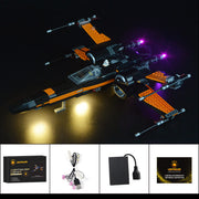 Light Kit For Poe's X-Wing Fighter 75102