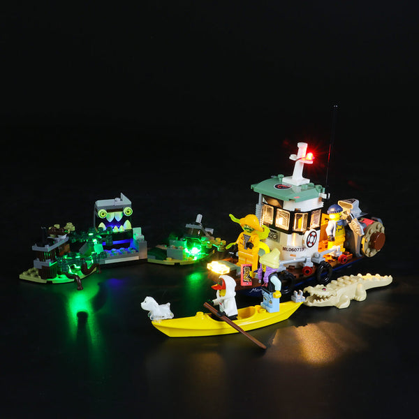 Lego Light Kit For Wrecked Shrimp Boat 70419  Lightailing